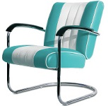 LCO1 Retro Diner Lounge Chairs