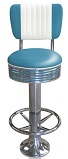 BS27CB-FR with Footring Retro Bar Stools