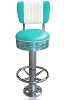 BS27CB-FR Retro Diner Stool Turquoise