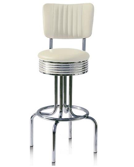 American 50s Style Diner Bar Stools   Retro Bar Stools ...