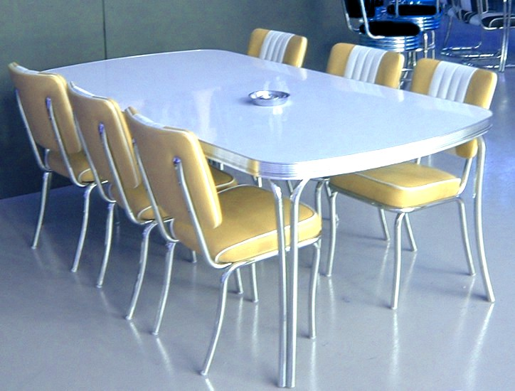 American 50s Style Diner Tables To28 Large Diner Table