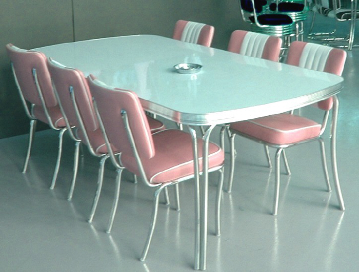 American 50s Style Diner Tables To28 Large Diner Table Retro