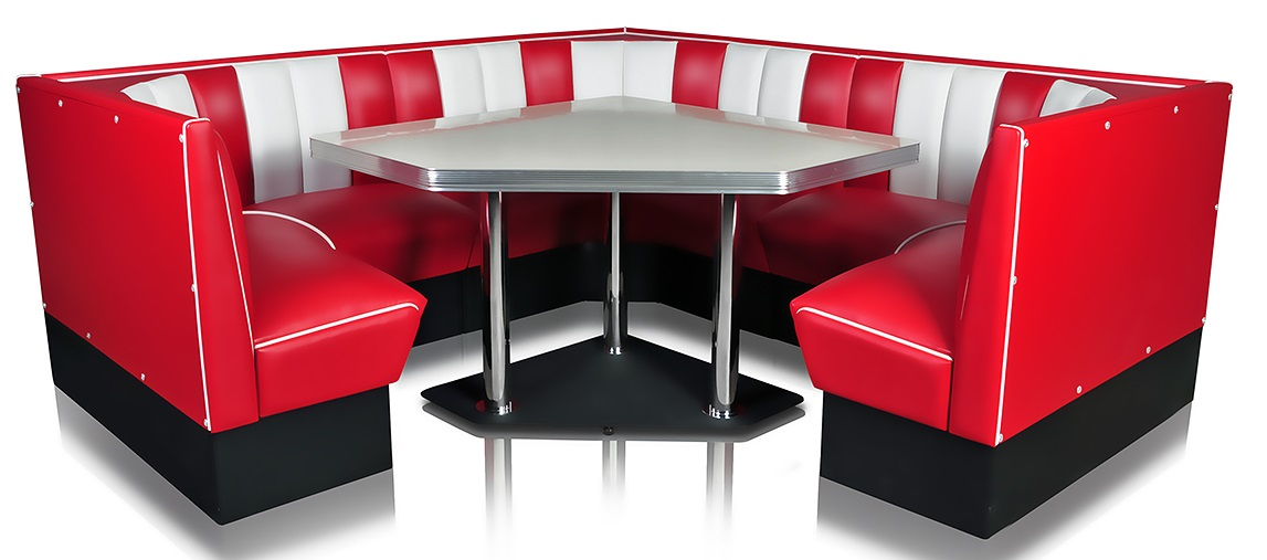 American 50s Style Diner Tables To30w Diner Booth Table
