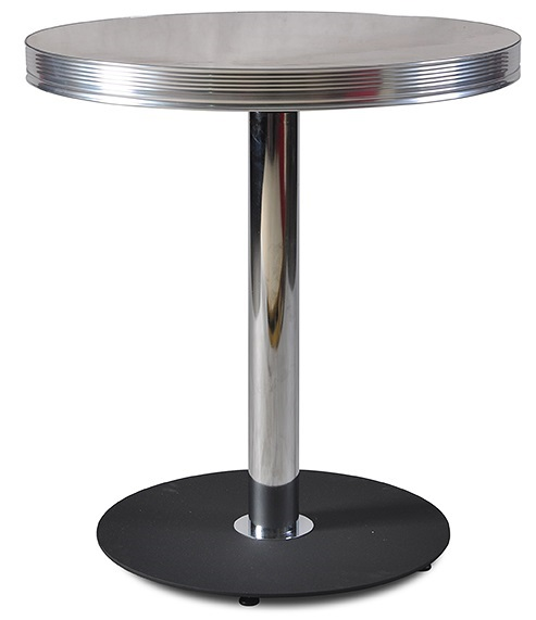 American 50s Style Diner Tables To31w Round Retro Diner