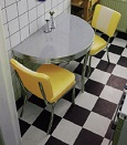 50s Diner Sets - Click on image to view Colours & Details