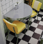 WO12 Retro Diner Table - Click on image to view more details