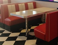 Hollywood 4  Seater Diner Booth Set