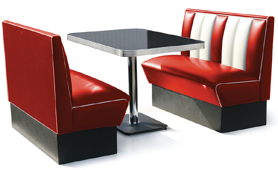 Retro Booths   Diner Booths   Bel Air 50s American Diner ...