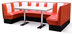 Hollywood Diner Booth Combination Set 2
