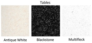 Click here to view Table Colours