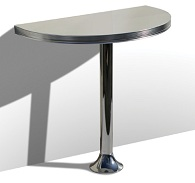 WO12 Table with Pedestal Leg - Click on image to view Colours & Details