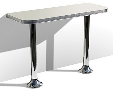 WO24 Table with Pedestal Legs - Click on image to view Colours & Details