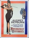 Audrey Metal Tin Sign