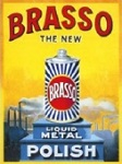 Brasso Metal Tin Sign