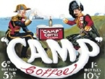 Camp Metal Tin Sign