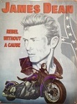 James Dean Rebel Metal Tin Sign