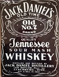 Jack Daniels Metal Tin Sign