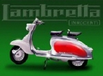Lambretta Metal Tin Sign