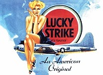 Lucky Strike Metal Tin Sign