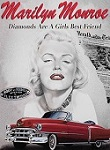 Marilyn Diamonds Metal Tin Sign