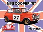 Mini Cooper S Metal Tin Sign