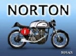 Norton Metal Tin Sign