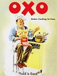 Oxo Metal Tin Sign