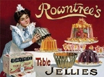 Rowntrees Jelly Metal Tin Sign