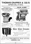 Thomas Crapper Metal Tin Sign