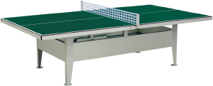 Institution Outdoor Table Tennis Table