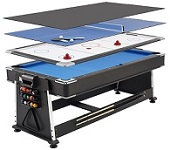 Revolver Reversible  Multi Games Table - Click here for details