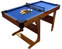 Clifton Vertical Folding Pool Table with Table Tennis Top