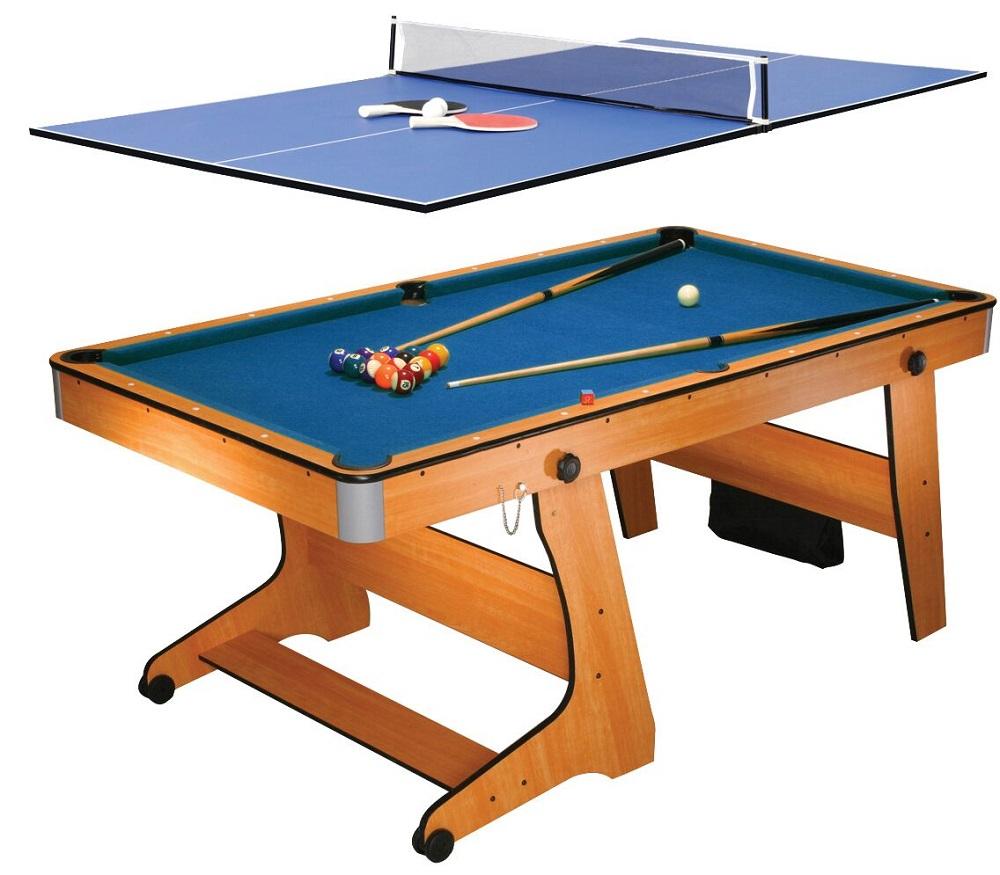 Fp6tt Folding Pool Table Tennis Table Folding Pool