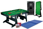 FS6 Folding Snooker Table and Extras